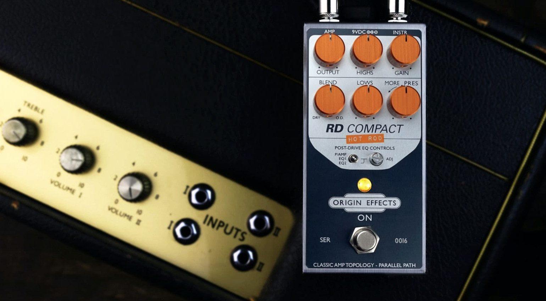 Origin Effects RD Compact Hot Rod RevivalDrive Effekt Pedal Amp