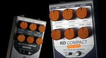 Origin Effects RD Compact Hot Rod RevivalDrive Effekt Pedal Front