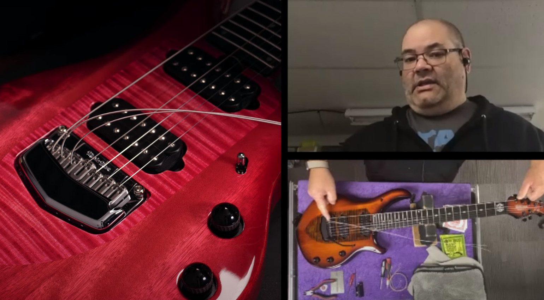 Petrucci Guitar Tech Dream Theater Saitenlage