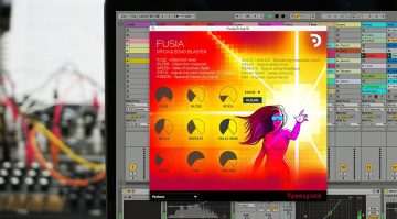 Puremagnetik Fusia: Shimmer, Distortion, Waveshaper, Delay und ein Pitch Shifter in einem Plug-in