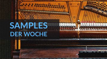 Samples der Woche: Mrs Mills Piano, Quadra, Mobeus und Vintage Drum Samples Vol. 1