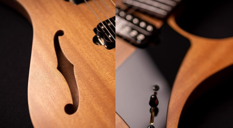 Strandberg Sälen Jazz E-Gitarre Semi Hollowbody 1