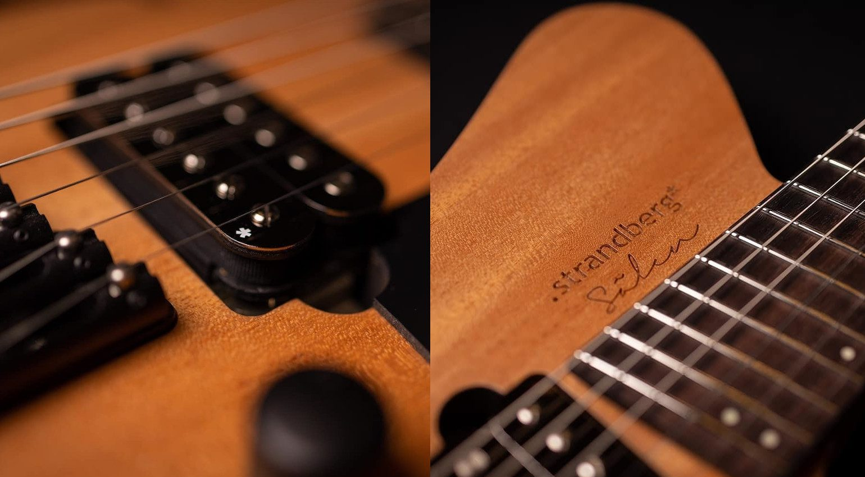 Strandberg Sälen Jazz E-Gitarre Semi Hollowbody 2