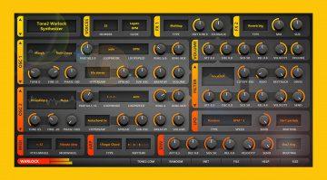 Tone2 Warlock: Bei diesem Synthesizer wird Effizienz groß geschrieben