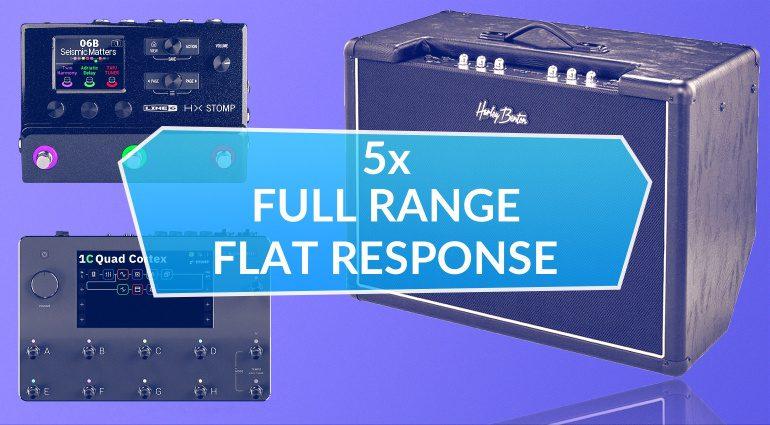 Full Range Flat Response Lautsprecher