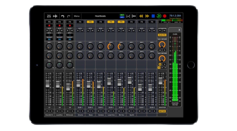 Wavemachine Labs Auria Pro IPad