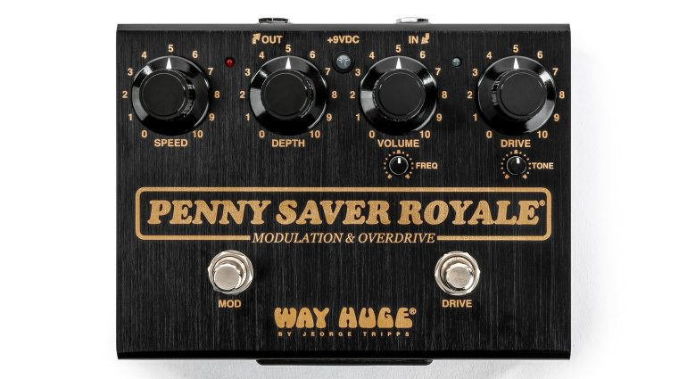 Way Huge Penny Saver Royale Bonamassa Overdrive Chorus Effekt Pedal