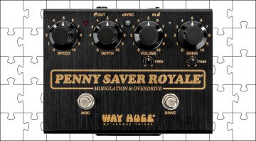 Way Huge Penny Saver Royale Bonamassa Overdrive Chorus Effekt Pedal Teaser 1