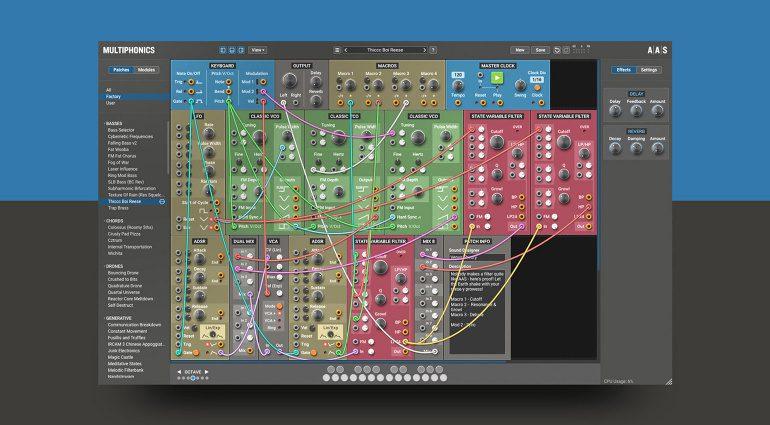 AAS Multiphonics CV-1: Ein Modular System als Software Plug-in für 79 €