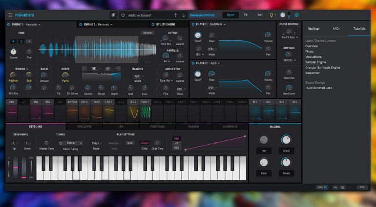 Arturia präsentiert neues Pigments 3 Synthesizer Plug-in