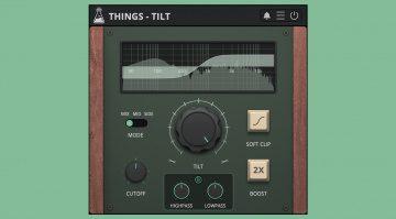 AudioThing Things Tilt: ein Equalizer Plug-in für 9 Euro und ein Jubiläum