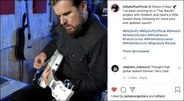 Billy Duffy Gretsch White Falcon Teaser