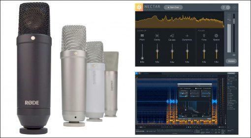 Deal: Neues Mikrofon und Software-Bundle von iZotope zum Sparpreis