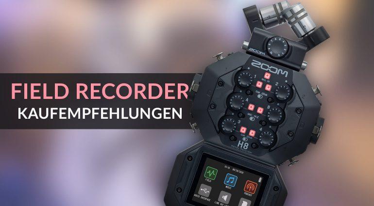 Digitale mobile Recorder: Die besten aktuellen Field Recorder