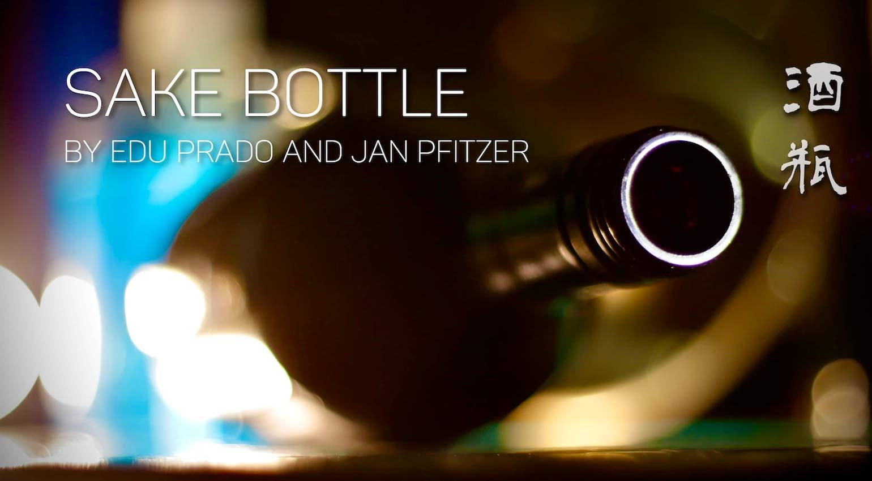 Edu Prado Sounds Sake Bottle