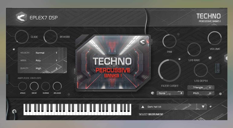 Eplex7 DSP Techno Percussive 1