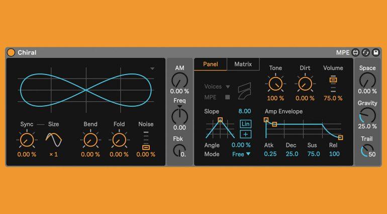 Fors Chiral Holographic Synthesizer: MPE-Klangerzeuger für Ableton Live