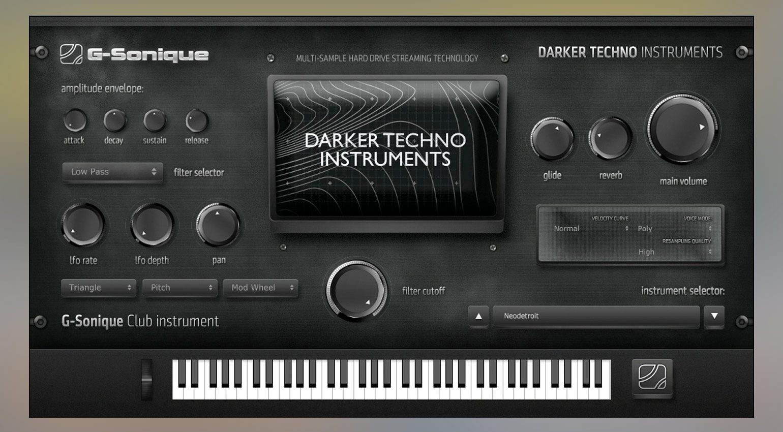 G-Sonique Darker Techno Instruments