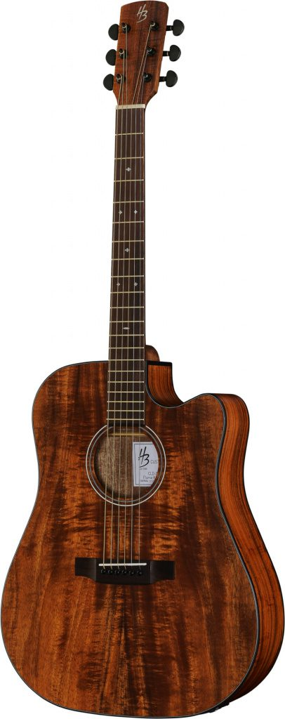 CLD-15CE Flamed Koa