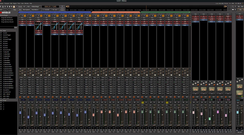 Harrison Mixbus 7 DAW Mixer