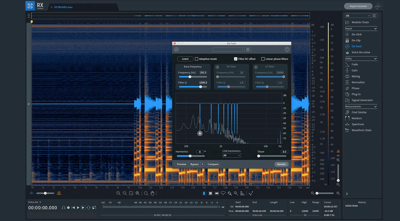 iZotope RX 8 Elements
