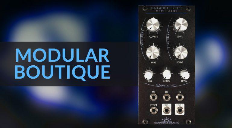 Modular Boutique Harmonic Oscillator