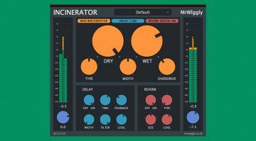 MrWiggly The Incinerator - ein Multieffekt-Plug-in für 24 Euro