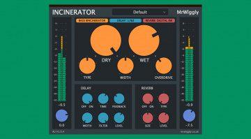 MrWiggly The Incinerator - ein Multieffekt-Plug-in für 24 Euro