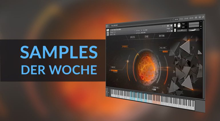 Samples der Woche: Bionic Plucks and Mallets, Epic Percussion 3 und mehr