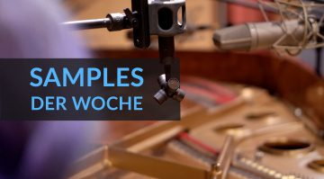 Samples der Woche: Pianoforte, Tallinn, Jewel Empire II, KEYS-Freestuff