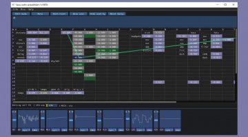 Sassy Audio Spreadsheet