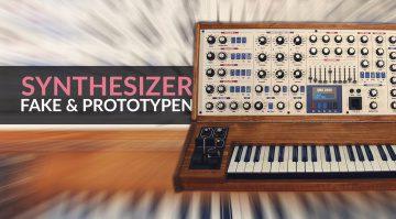 Fake und Prototypen Synthesizer