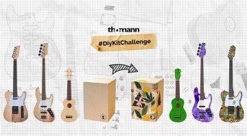 Thomann #DiyKitChallenge: Instrument selbst gestalten und Preise abstauben!