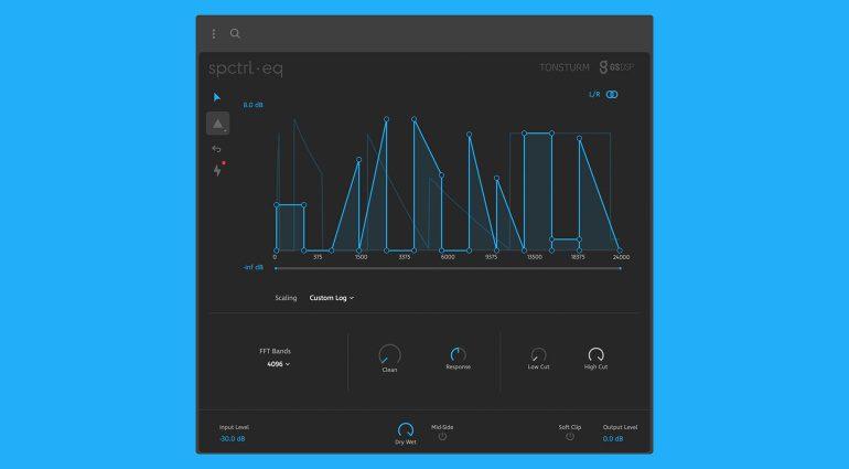 Tonsturm SPCTRL EQ: kreative Filterfahrten mit 4096 Frequenzbändern