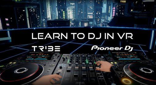 Pioneer DJ goes VR: Auflegen mit CDJ-3000 und DJM-Mixer in Tribe XR