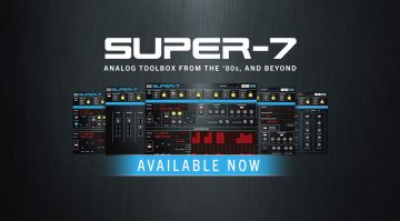 UVI Super-7: Roland MKS-7 Emulation als Software Plug-in