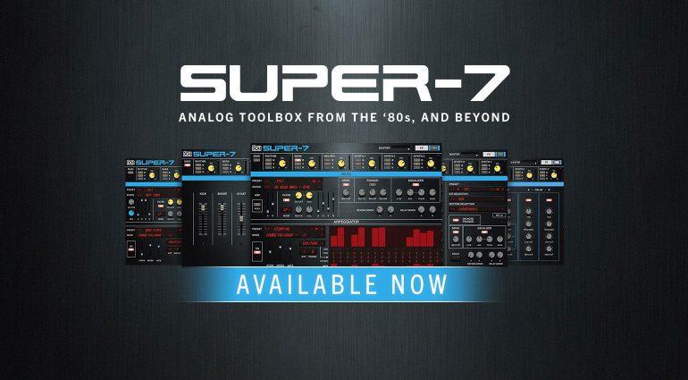 UVI Super-7: Roland MKS-7 Emulation als Software Plug-in