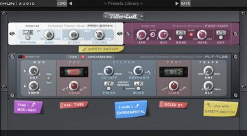 Xhun Audio FilterCult: eine virtuelle Moog Ladder Filter Emulation für 30 Euro