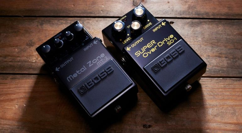 Boss Anniversary Edition Metal Zone MT-2-3A SD-1-4A