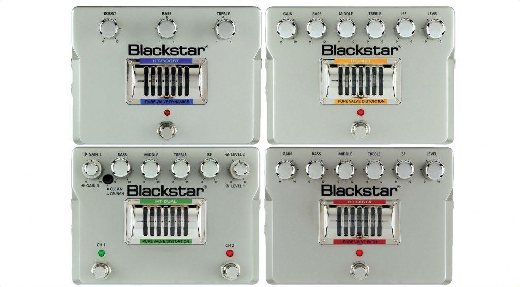 Blackstar HT Valve Pedals