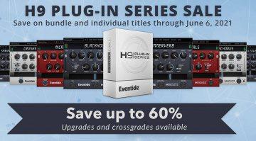 Deal: Eventide H9 Plug-ins für kurze Zeit mit über 67 % Rabatt!