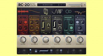 Deal: XLN Audio RC-20 Retro Color Plug-in für kurze Zeit mit über 40 % Rabatt