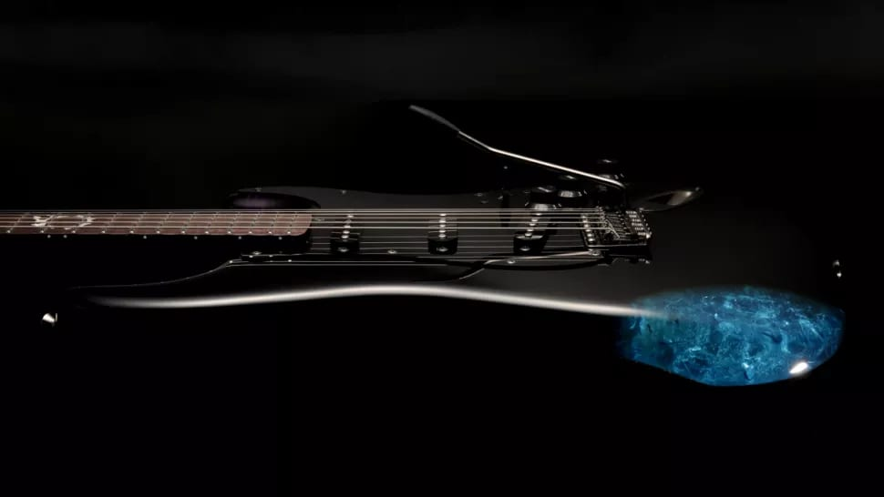 Fender Final Fantasy XIV Stratocaster Body Kristall