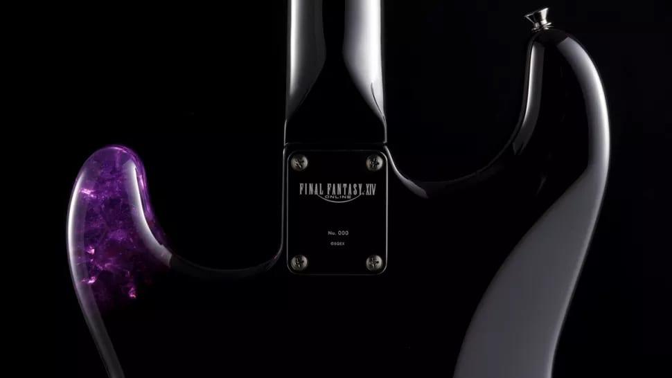 Fender Final Fantasy XIV Stratocaster Neck Plate