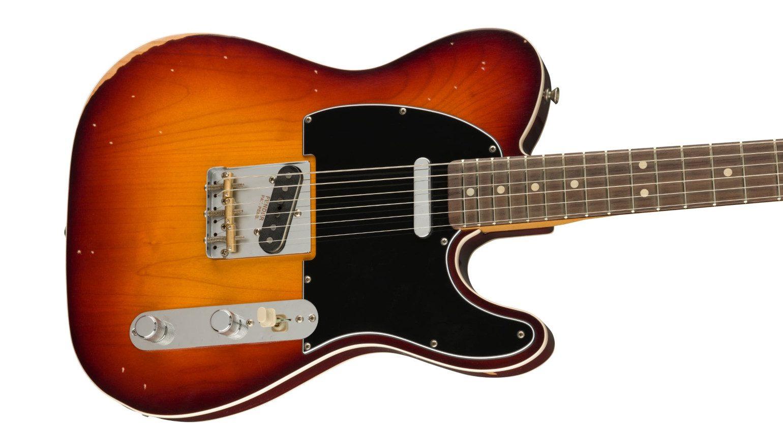 Fender Road Worn Jason Isbell Signature Custom Telecaster Body Front