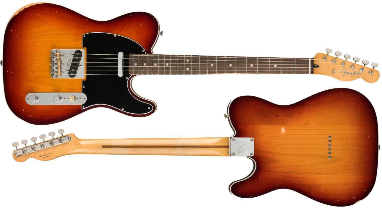 Fender Road Worn Jason Isbell Signature Custom Telecaster Front Back