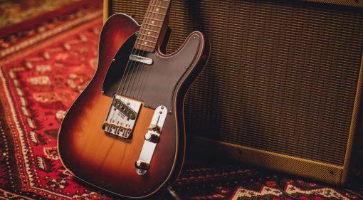 Fender Road Worn Jason Isbell Signature Custom Telecaster Teaser