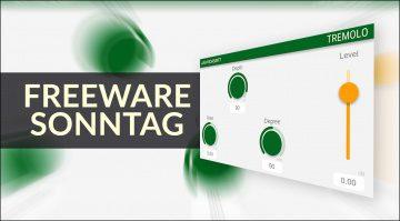 Freeware Sonntag: Leslie Sanford, Tremolo und Cheap-Trick Stereo Enhancer