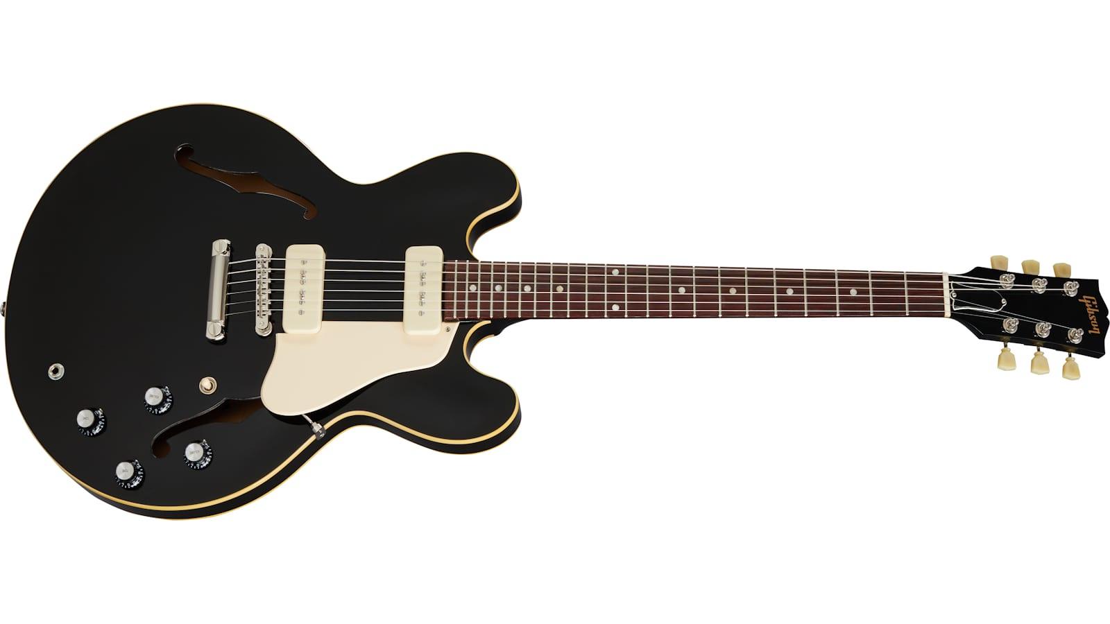 Gibson-Ebony-ES-335-P-90