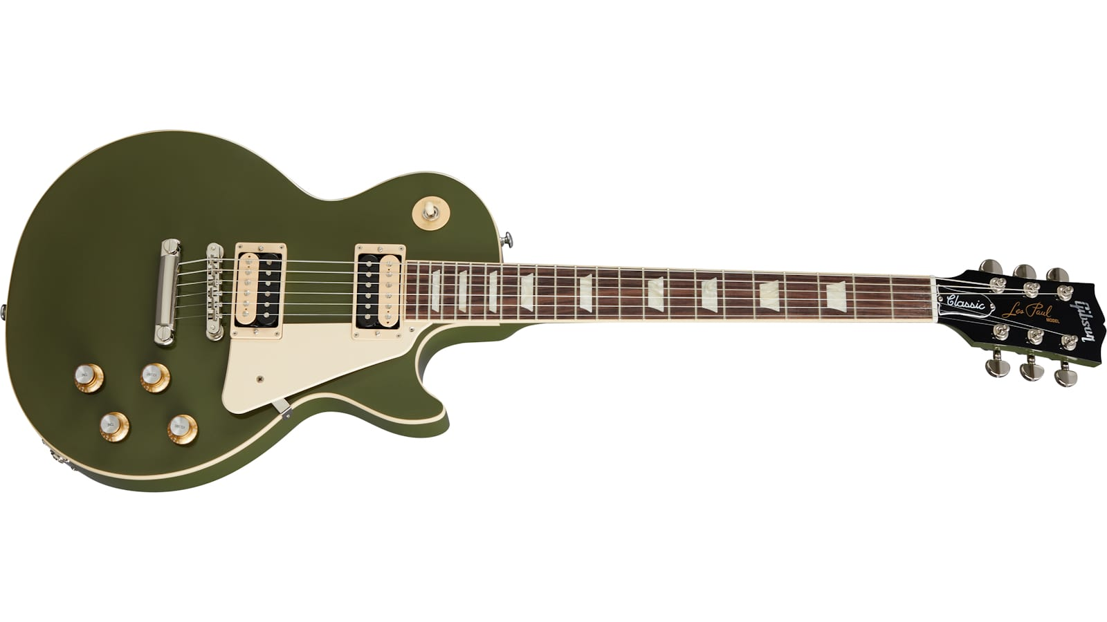 Gibson-Olive-Drab-Les-Paul-Classic